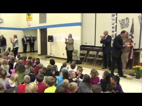 Fourth Grade Teacher Sara Robinson Makes 'Grand' News as Nebraska's 2012 Milken Educator