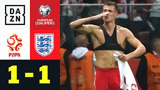 Last-Minute-Ausgleich kontert Kane-Hammer: Polen - England 1:1 | European Qualifiers