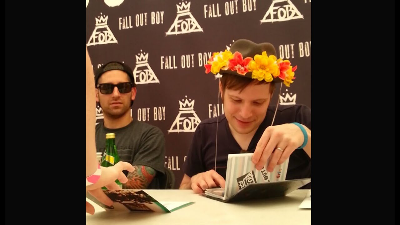Meeting Fall Out Boy 7 3 14 In Burgettstown Pa Youtube