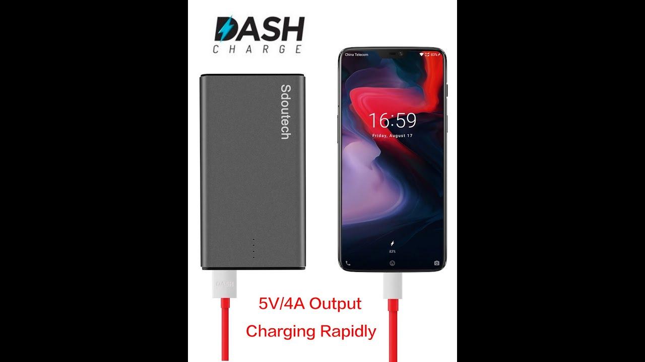 Sdoutech 10000 mAh Dash Charge Power Bank