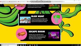 Nickelodeon Kids Choice Awards 2018 On Roblox?? *Update*
