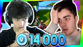 FORTNITE - IF TU PERDS, TU PAYES 100 Euros OF V-BUCKS! (Ft. Inoxtag)