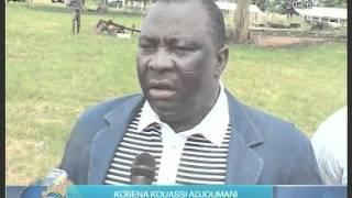 Visites des stations d'élevages des régions de Toumodi et de Yamoussoukro