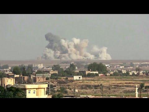 Вооруженные силы Турции поразили около 200 целей, обстреливая позиции курдов с воздуха и земли.