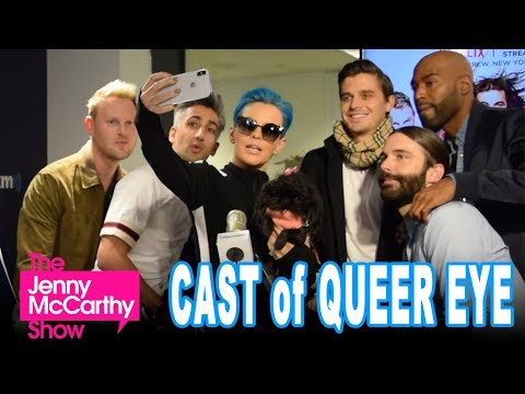 The cast of Queer Eye on The Jenny McCarthy Show