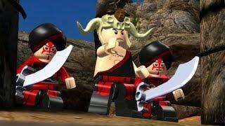 LEGO Indiana Jones: The Original Adventures Walkthrough P6 - Escape the Mines & Battle on the Bridge