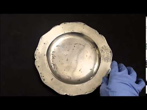 Hidden Treasures - An 18th Century Pewter Plate