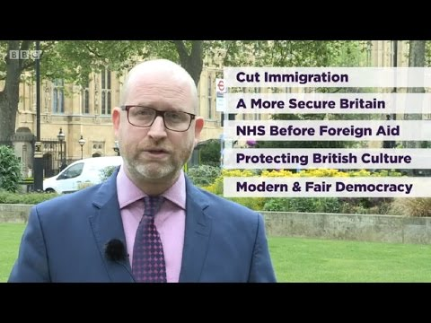 UKIP - Party Political Broadcast - GE2017 - 10/05/2017