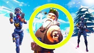 Beschütze den Weihnachtsmann in Fortnite Battle Royale!