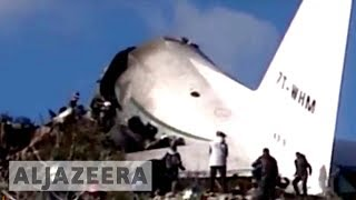 Scores killed in Algeria army plane crash