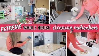 EXTREME WHOLE HOUSE CLEAN WITH ME 2019 | ULTIMATE CLEAN WITH ME 2019 | CLEANING MOTIVATION 💪🏻
