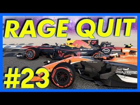 F1 2017 Career Mode Gameplay : RAGE QUIT!! (Part 23)