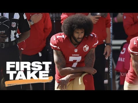 First Take reacts to Colin Kaepernick being GQ's Citizen of the Year | First Take | ESPN