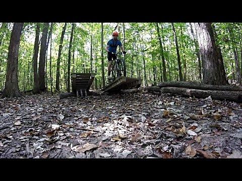 Findley mountain biking