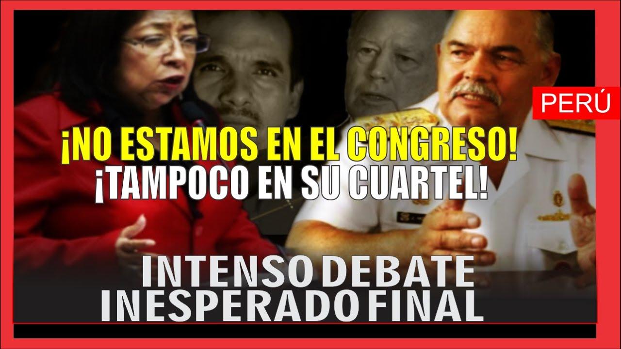 INTENSO DEBATE ENTRE: ExMin Kisic, Almte J.Montoya, excongresistas Foronda y Morales- ACUERDO ESCAZÚ