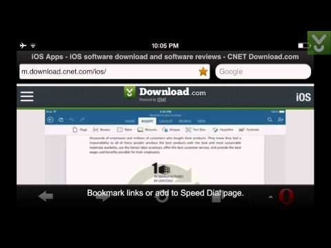 OperaMini for iOS - Browse the Web on iOS - Download Video Previews