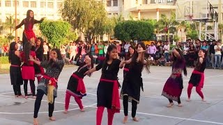 Pahari Nati at Baddi University | Himachali Folk Dance 2017