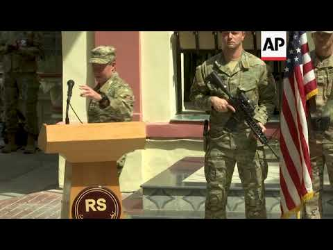US Command Of Operations In Afghanistan Handed To Gen. Austin Miller