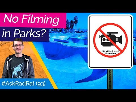 Why is Skatepark Footage Hated? #AskRadRat 93