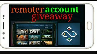 Get Remoter steam account giveaway