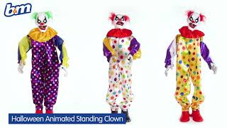 Animated Standing Clown | B&M Stores