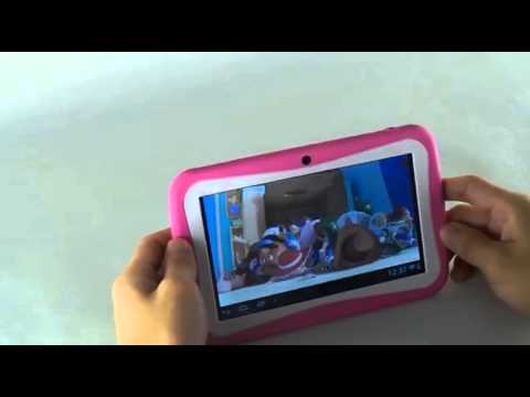 7 Inch Kids Safety Tablet, Wifi Dual Core android 4 4 2 with G Sensor (FREE  Screen Protector)