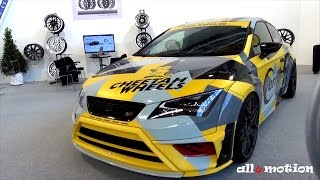 SEAT LEON 5F CUPRA WIDEBODY JE DESIGN CARMOUFLAGE @ Tuningworld 2015(, 2016-01-14T11:10:26.000Z)