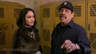 Danny Trejo Visits The Lucha Underground Temple | El Rey Network