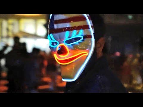 The Purge scare zone & street show at Halloween Horror Nights 2017, Universal Orlando