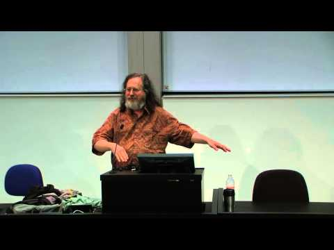 Richard Stallman: Copyright vs. Community