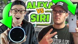 SIRI vs ALEXA DRAFT BATTLE OF THE CENTURY!! - Who Will Win?? MUT 18 DRAFT CHALLENGE