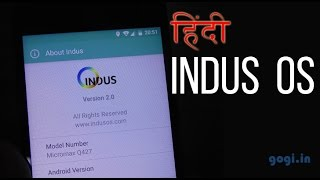 Indus OS review - supports 12 Indian regional languages