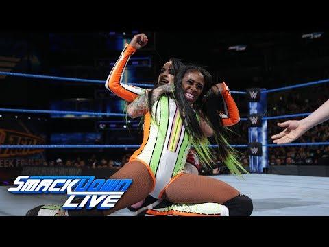 Naomi vs. Ruby Riott: SmackDown LIVE, Feb. 27, 2018