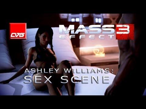 Mass Effect 3 - Ashley Williams Sex Scene - 동영상