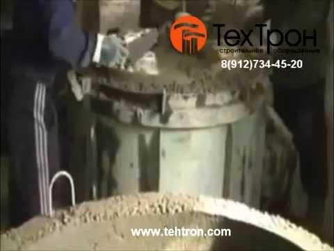 Изготовление бетонных колец, опалубка для бетонных колец