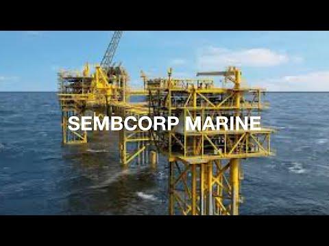 덴마크 Tyra 유전 재개발 프로젝트중 Offshore platform (Sembcorp Marine)