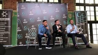 Смотреть видео DECENTURION - Cryptonomics Capital - Москва 2-й день Токен экономика - Ответы на вопросы Часть 4 онлайн