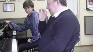 �������� ���� Даниил ХАРИТОНОВ  И.С. БАХ ХТК-1 b-moll ������