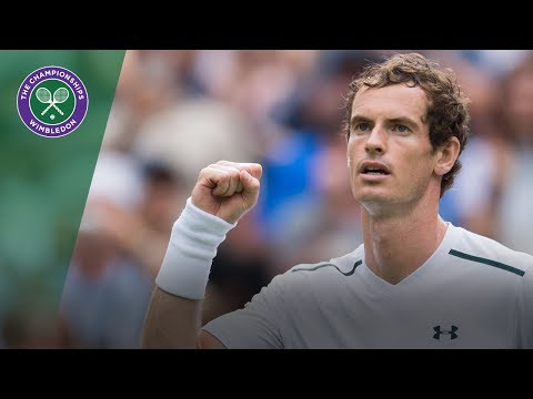 Andy Murray v Alexander Bublik Highlights - Wimbledon 2017 first round
