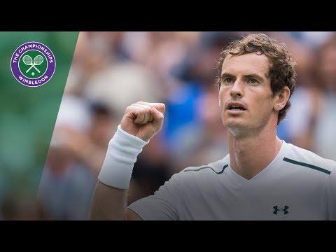 Andy Murray v Alexander Bublik Highlights - Wimbledon 2017 first round