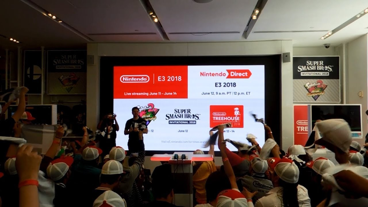 Recap of E3 2018 Activities and Live Reactions at Nintendo NY