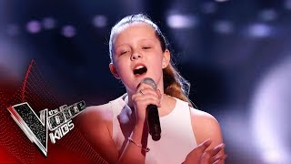 Connie Performs 'I Turn To You' | Blind Auditions | The Voice Kids UK 2019