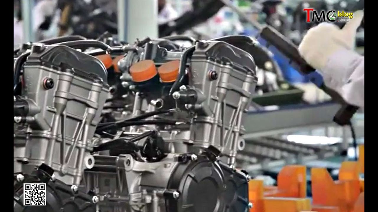 Proses Perakitan Honda CBR250RR