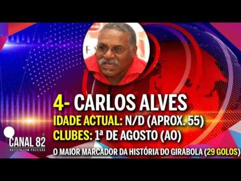 5 Maiores Futebolistas da História de Angola  (CANAL 82-ANGOLA)
