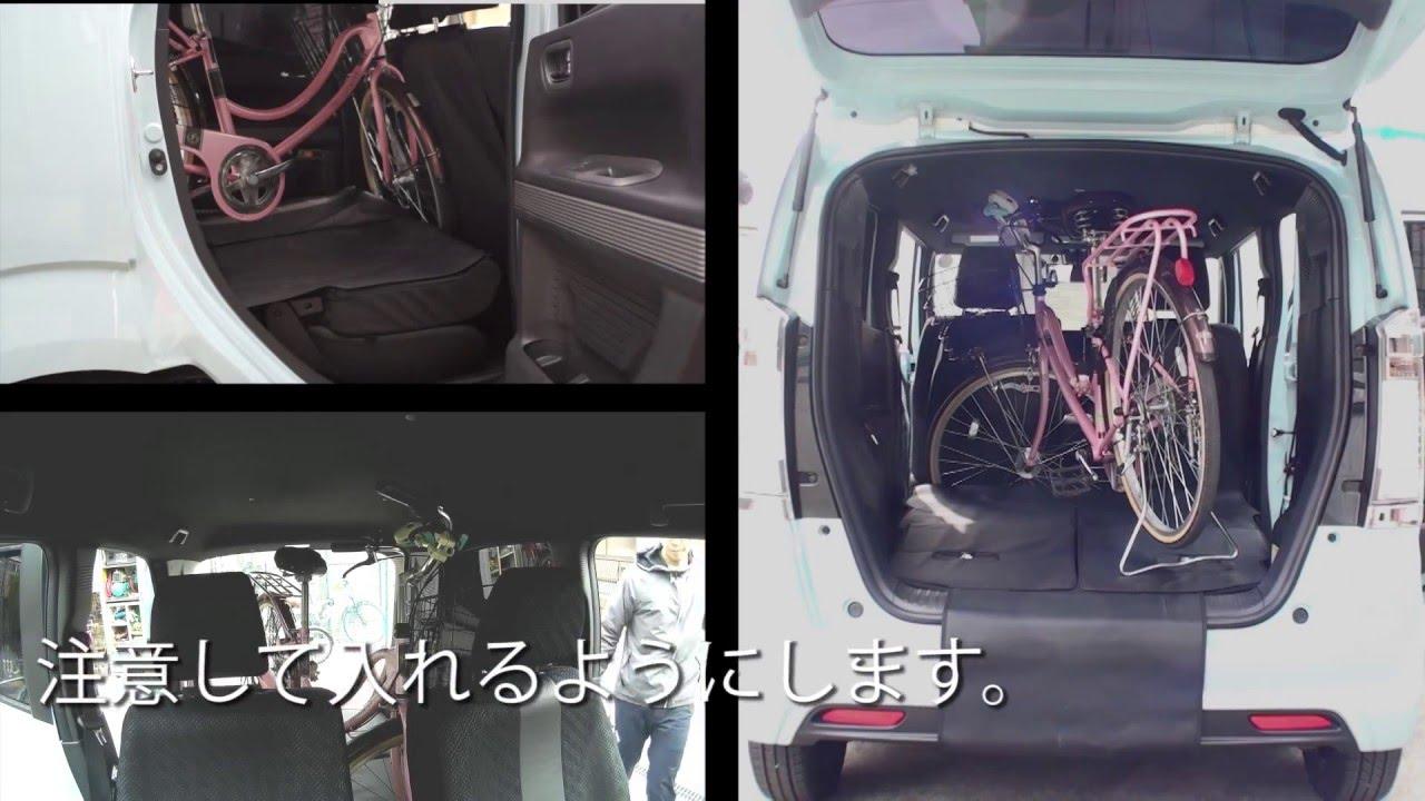 n box 自転車の積み方