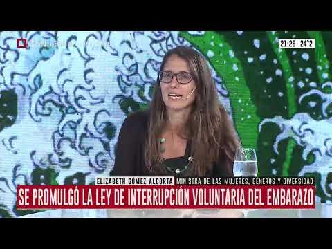 ABORTO LEGAL | Habla la ministra Elizabeth Gómez Alcorta tras la promulgación de la ley de IVE