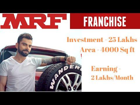 MRF Tyre Franchise