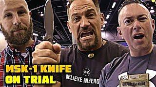 MSK-1: Ultimate Survival Tips Knife - BLADE Show: First Impressions - Best Survival Knife?