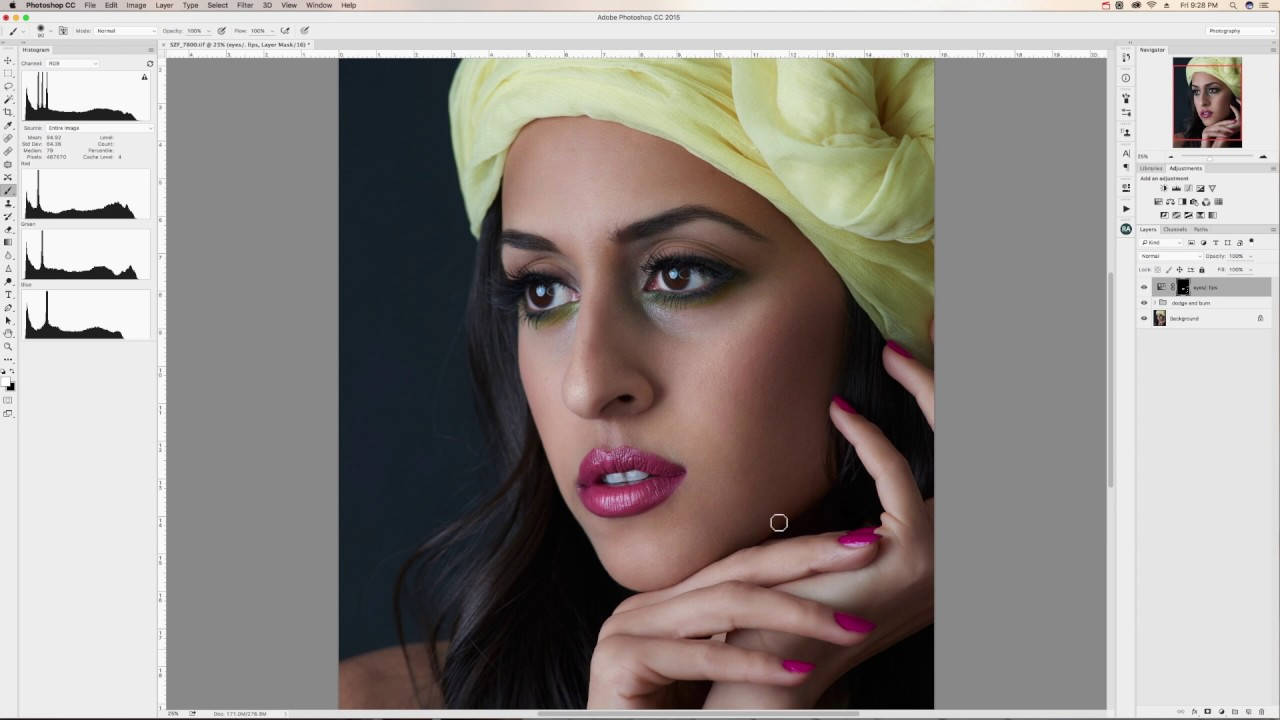 Retouch Session