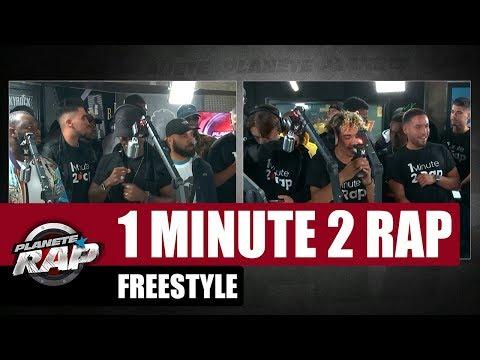 1 minute 2 rap - Freestyle avec Black M #PlanèteRap